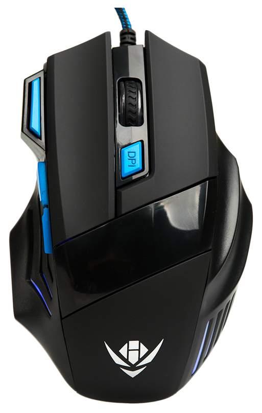 Игровая мышь Nakatomi MOG-21U Cyan/Black
