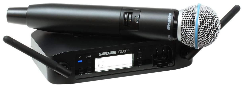Цифровая радиосистема Shure GLXD24RE/B58 GLXD Advanced
