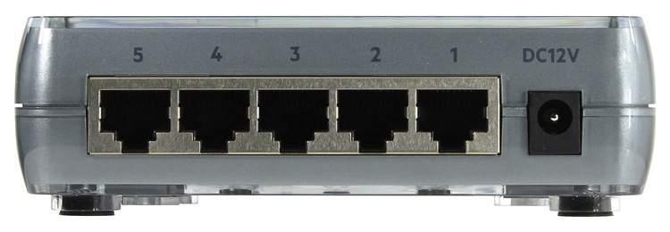 Коммутатор HP 1405-5G v3 JH407A Grey