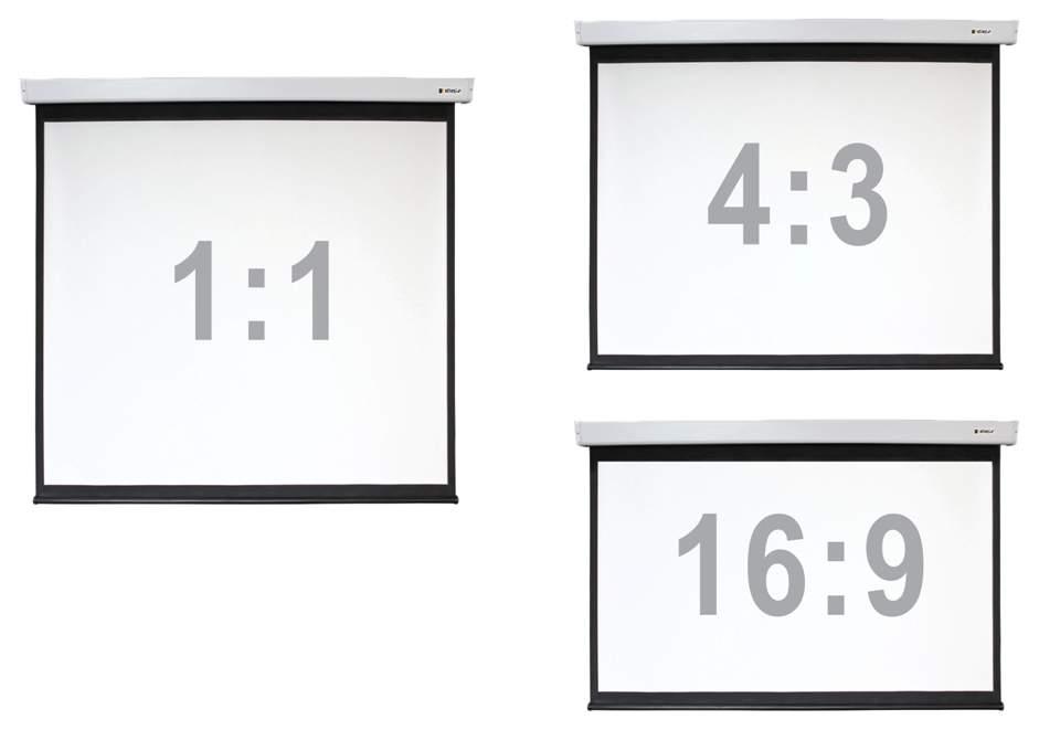 Экран для видеопроектора Digis Electra-F DSEF-4305 Черный