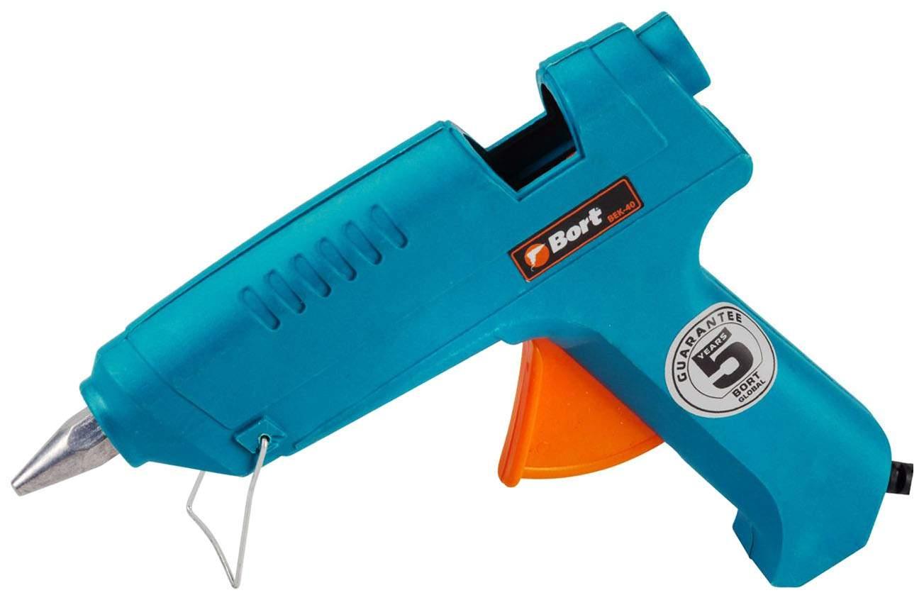Пистолет клеевой Bort BEK-40