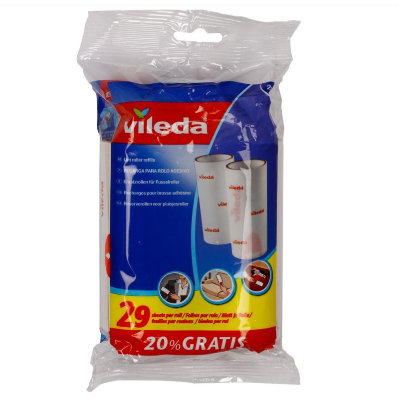 Ролики Vileda сменные для чистки одежды
