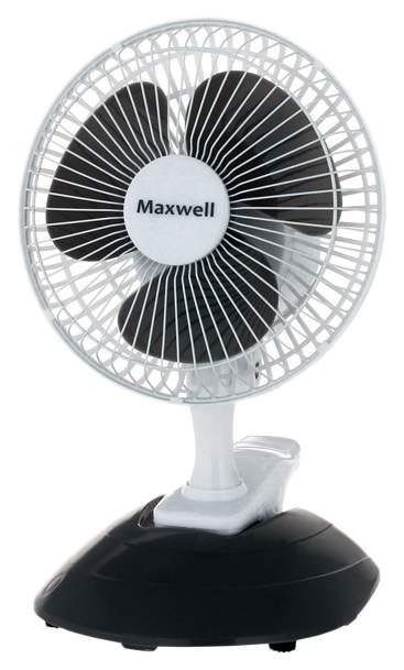 Вентилятор настольный Maxwell MW-3548 white/grey