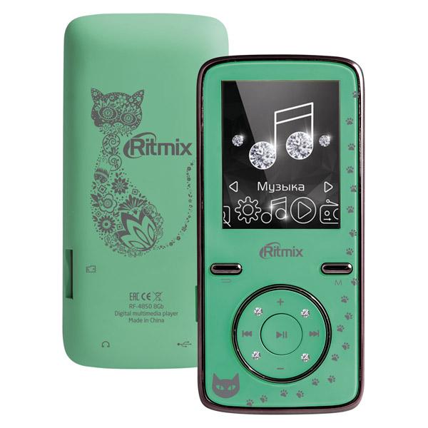 Портативный медиаплеер Ritmix RF-4850 8Gb Mint