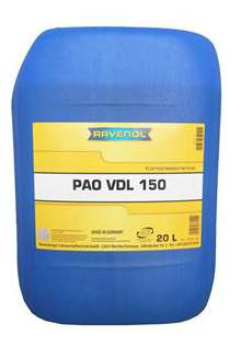 Компрессорное масло RAVENOL Kompressorenoel VDL PAO 150 20л 1330118-020-01-999