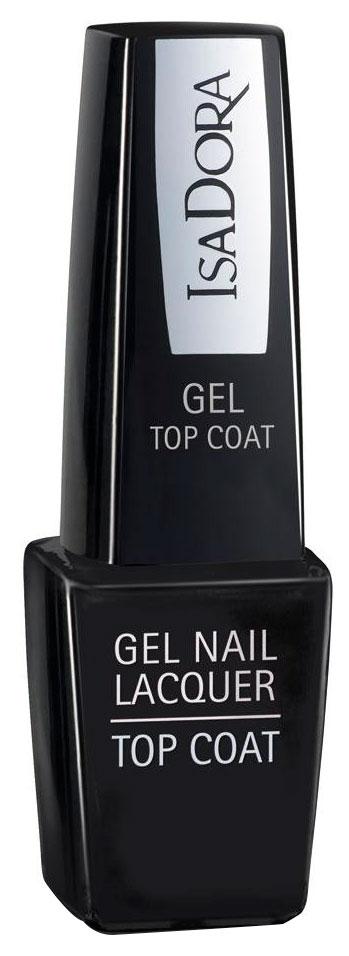 Закрепитель лака для ногтей Isa Dora Gel Nail Lacquer Top Coat тон 210 6 мл