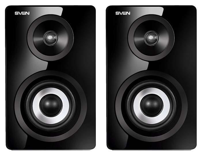 Колонки для компьютера SVEN SPS-750 Black 50 Вт ПДУ Bluetooth Optical