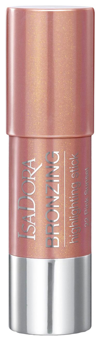Румяна IsaDora Bronzing Highlighting Stick 22 Pink Sunset