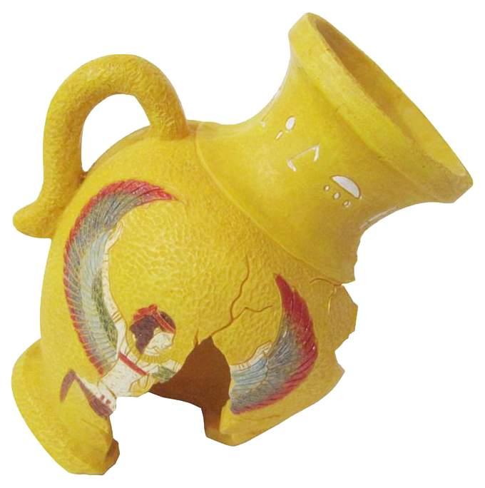 Декорация для аквариума Penn Plax желтый