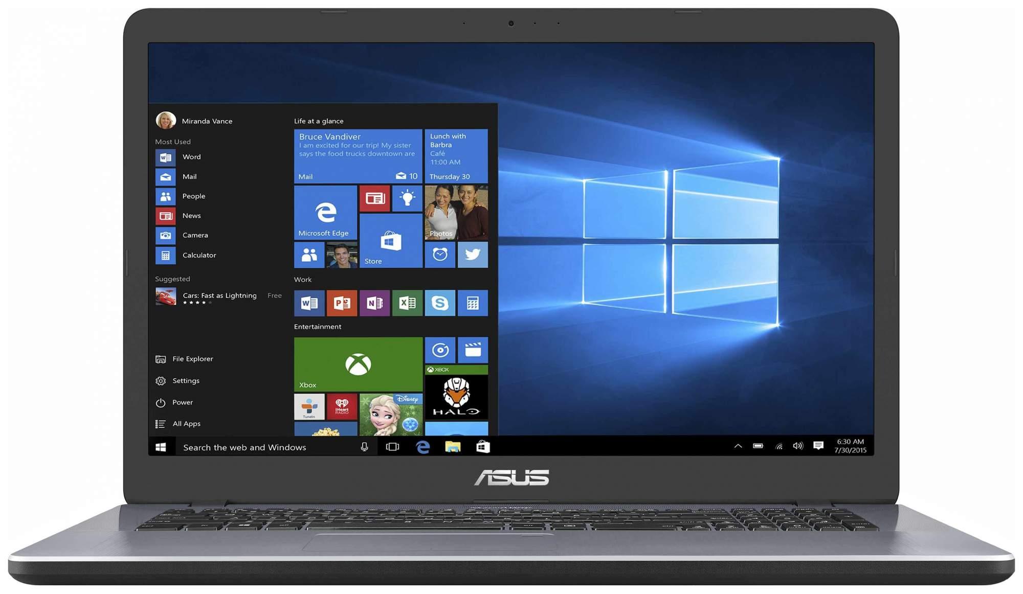 Ноутбук ASUS X705MB-BX010T (90NB0IH2-M00300)
