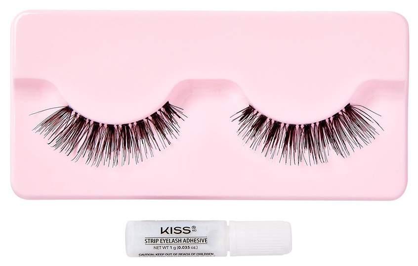 Накладные ресницы KISS Wimpers Natural Gorgeous False Lashes 2 шт