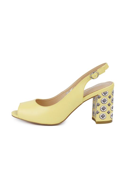 Босоножки женские RIO FIORE W1003-9201-Y желтые 37