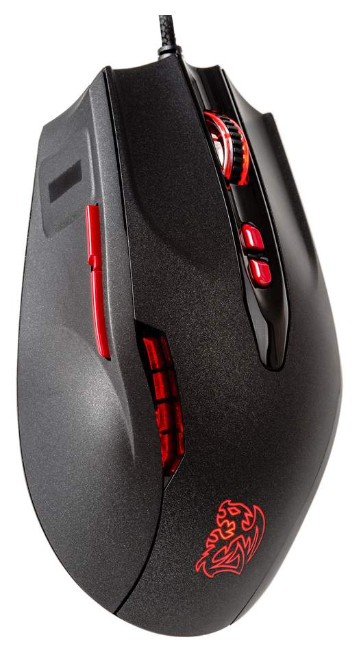 Игровая мышь Tt eSPORTS Black FP Black (MO-BKV-WDLGBK-01)