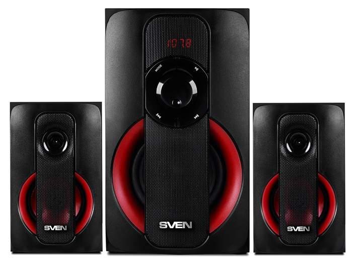Компьютерная акустическая система SVEN MS -304, Черный, 40 Вт