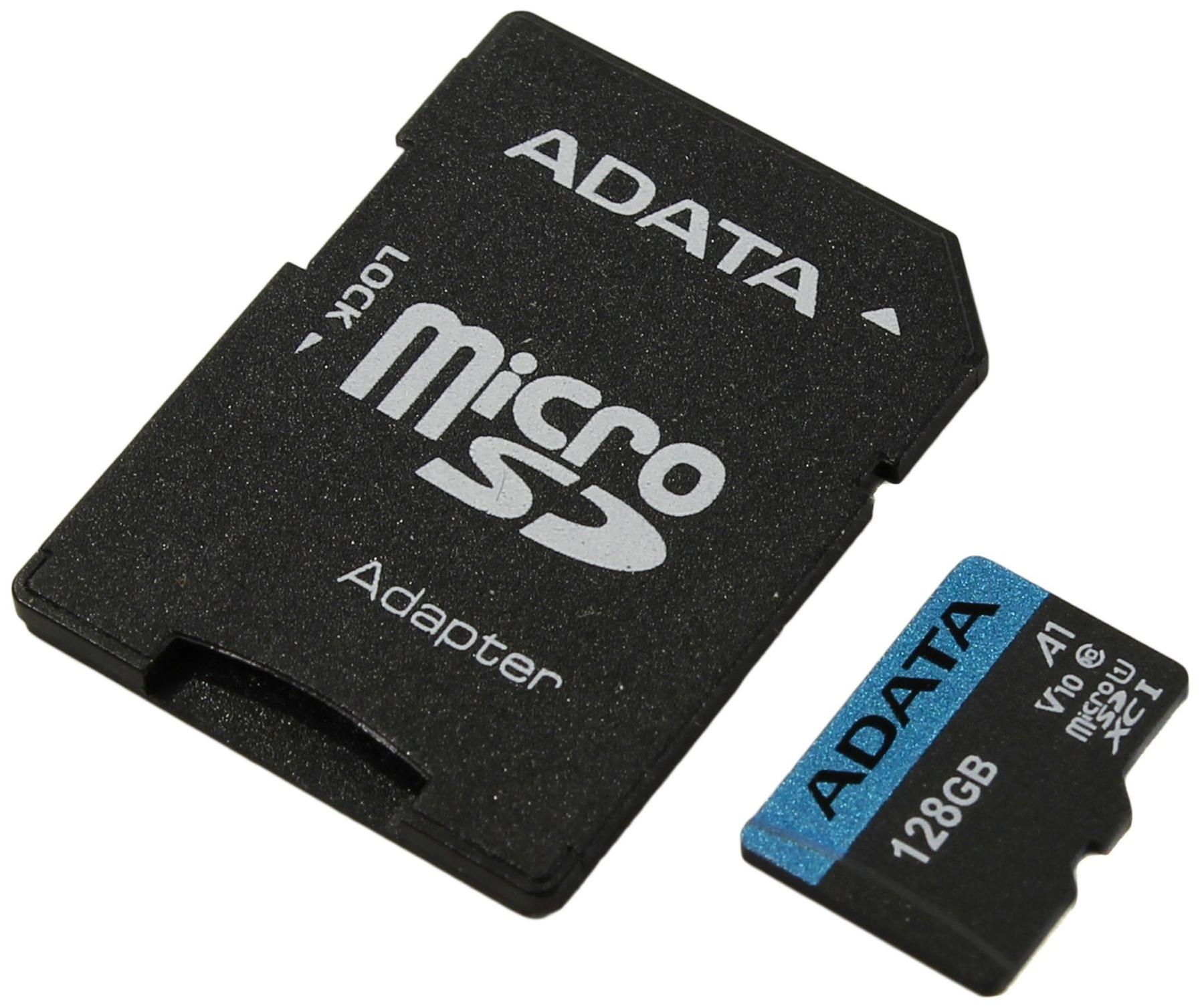 Карта памяти ADATA Micro SDXC Premier 128GB