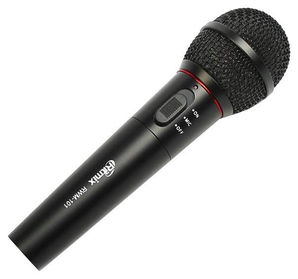 Микрофон Ritmix RWM-101 Black