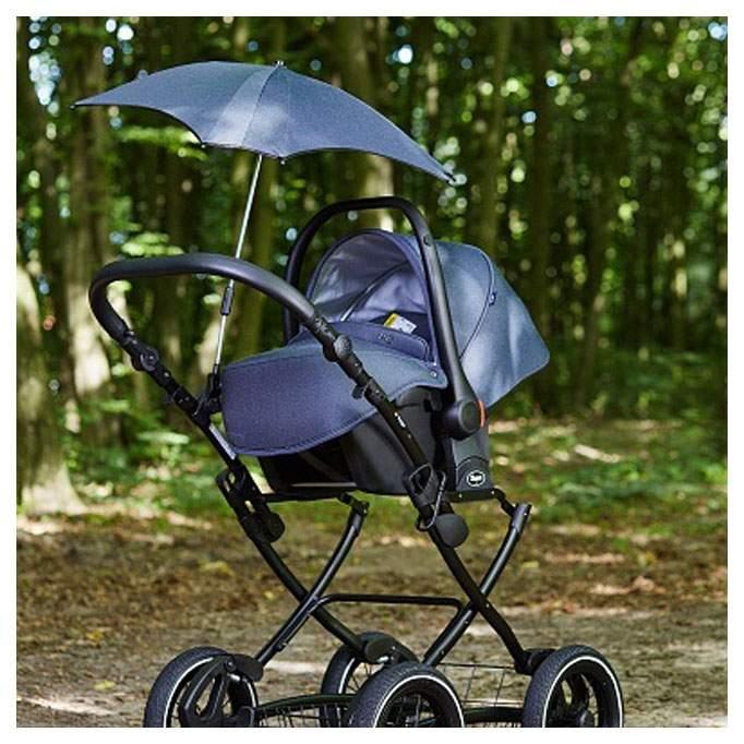 Зонт для коляски с раздвижным стержнем Anex Q1 blue