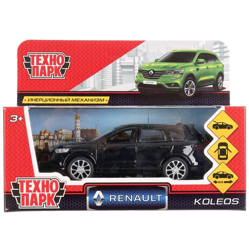 Машина инерционная Технопарк RENAULT KOLEOS металлическая 12 см