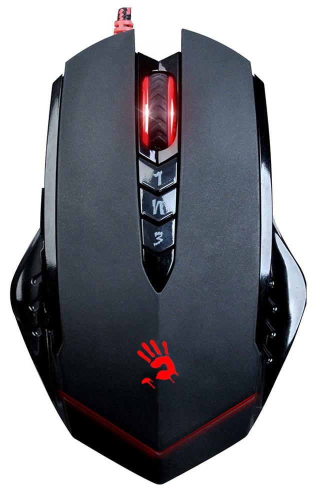 Проводная мышка A4Tech V8 Black