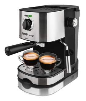 Рожковая кофеварка Scarlett SL-CM53001 Black