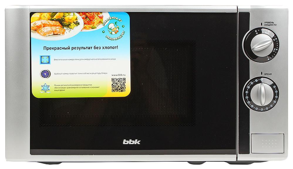 Микроволновая печь соло BBK 20MWS-708M/BS grey/black