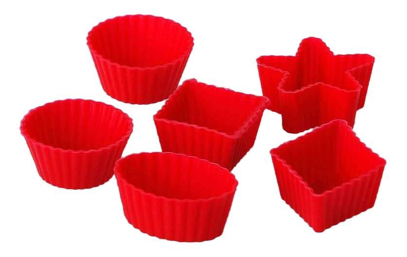 Набор форм для выпечки 6 штук