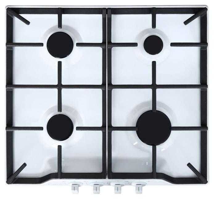 Встраиваемая варочная панель газовая GEFEST ПВГ 1212 White