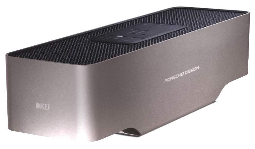Беспроводная акустика KEF Porsche Design Gravity One BT Black (SP3900GA)
