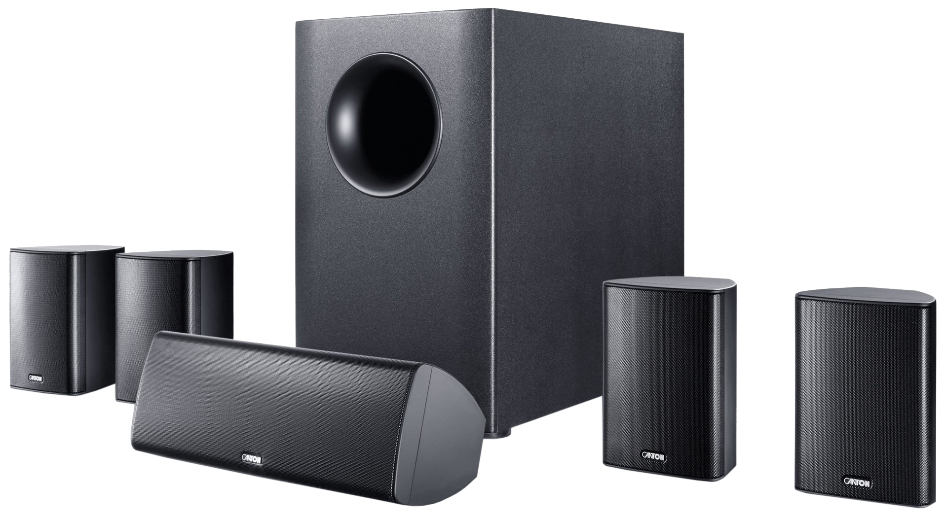 Комплект акустической системы Canton Movie 165 Вlack