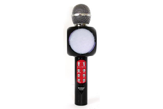 Беспроводной караоке-микрофон WS-1816 Black