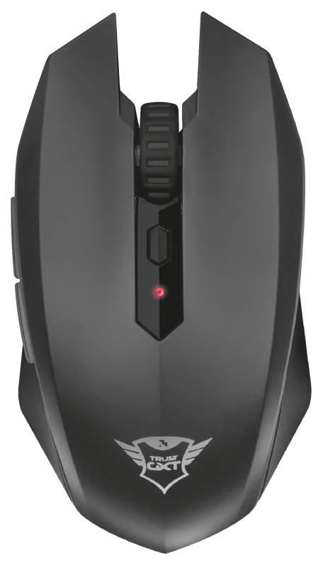 Беспроводная игровая мышь Trust GXT 115 Macci Black (22417)