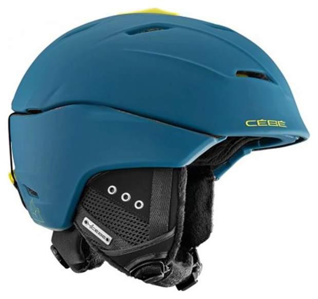 Горнолыжный шлем мужской Cebe Atmosphere Deluxe 2018, синий, M/L