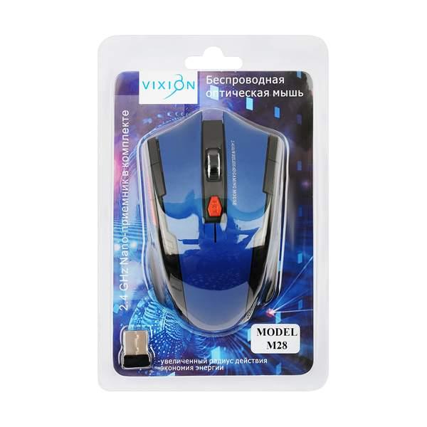 Беспроводная мышка Vixion M28 Blue (GS-00005447)