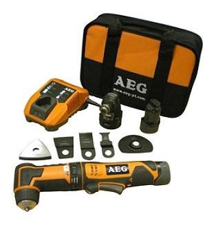 Аккумуляторный реноватор AEG OMNI12CLI-KIT2 MULTI-HEADS-TOOL IN2 4935440770