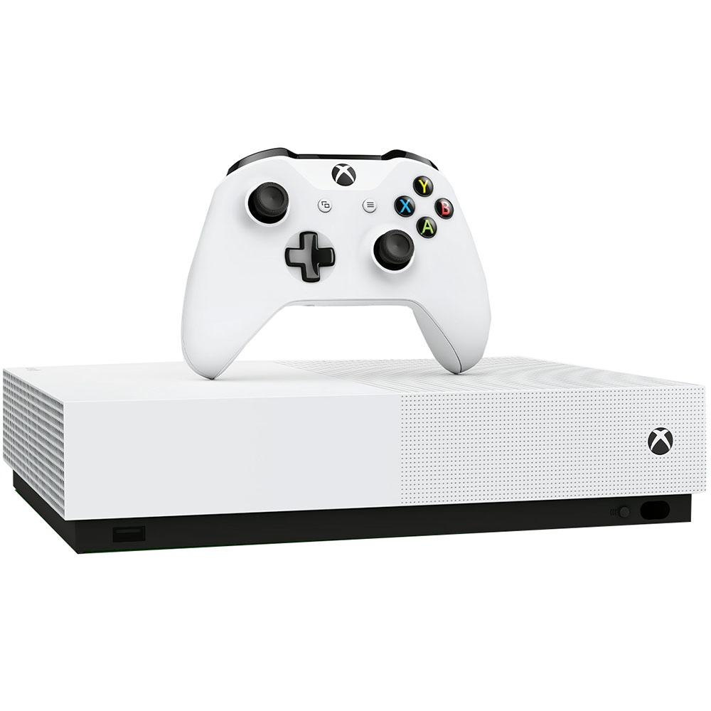 Игровая приставка Microsoft Xbox One S 1Tb All Digital Sea of Thieves, Minecraft, Fortnite