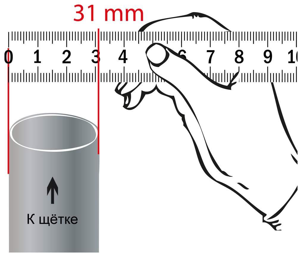 Трубка для пылесоса Filtero FTT 32