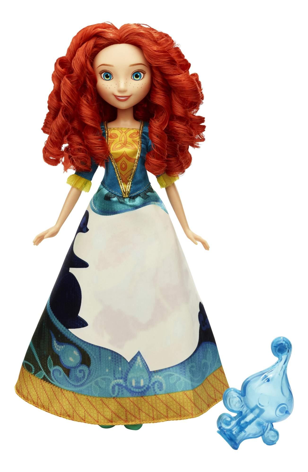 Кукла Disney модная Принцесса в в юбке с проявляющимся принтом b5295 b5301