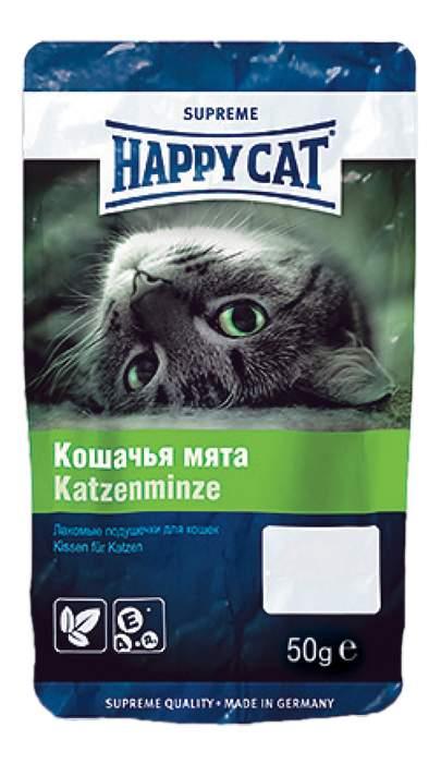 Лакомство для кошек Happy Cat Кошачья мята, 50г