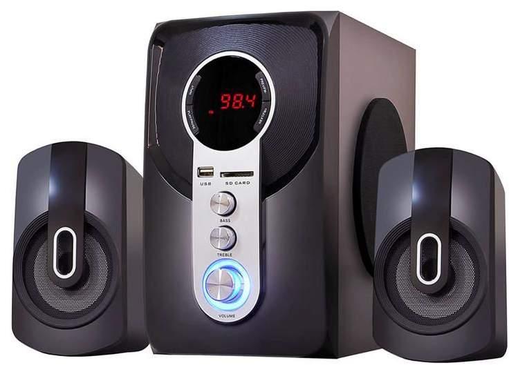 Акустическая система 2,1 Ginzzu GM-405 с Bluetooth