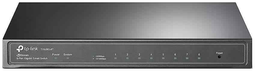 Коммутатор TP-LINK JetStream T1500G-8T 8-портовый