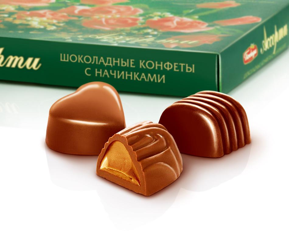 Картинки шоколадных конфет ассорти