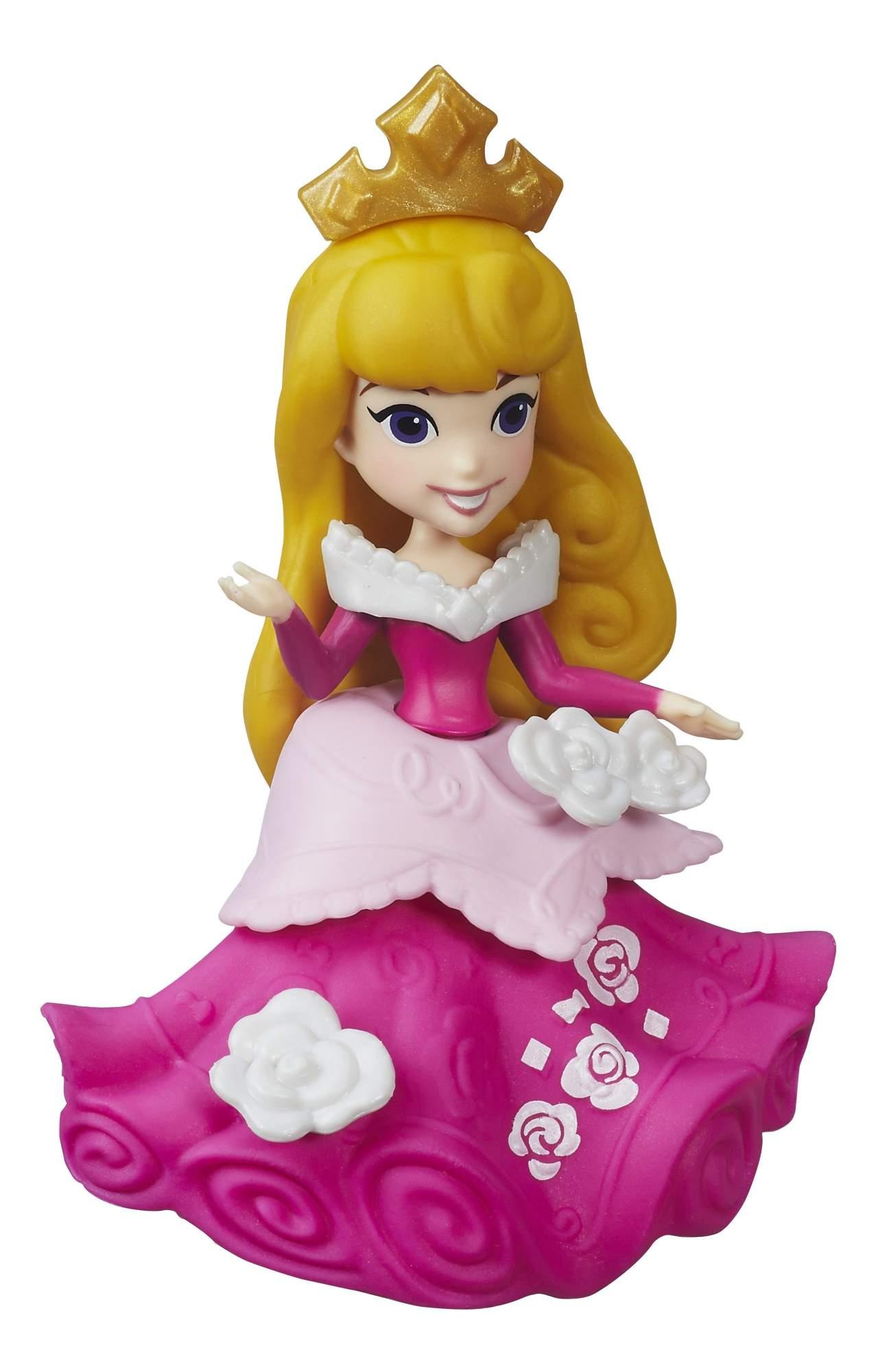 Маленькие куклы принцесс Disney b5321 b5326 7 см