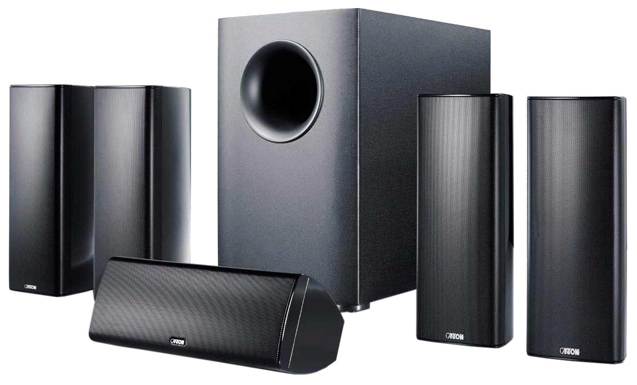 Комплект акустической системы Canton Movie 365 Black Matt
