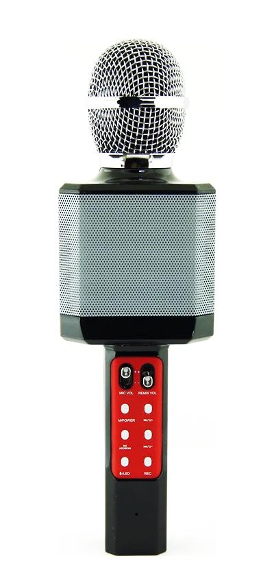 Беспроводной караоке-микрофон WS-1828 Black