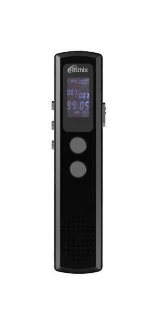 Диктофон цифровой Ritmix RR-120 4GB Black