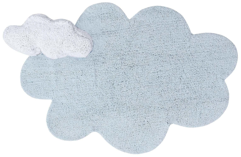 Ковер Lorena Canals облако с подушкой голубое 110*170