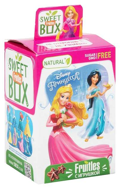 Пастилки фруктовые Sweet box fruitles с игрушкой 5 г