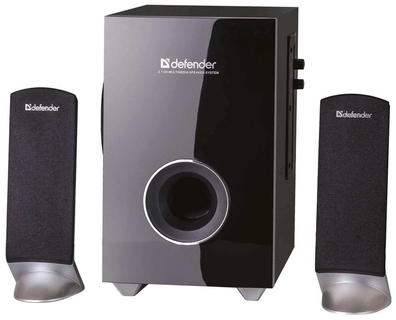 Колонки для компьютера Defender I-Wave S20 (65120) Black