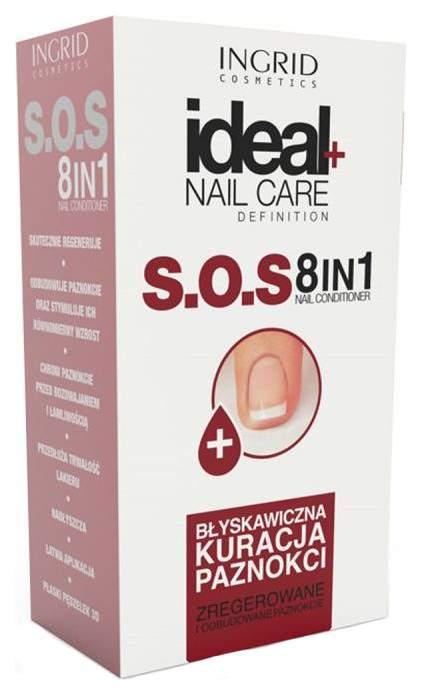 Лечебный препарат для ногтей Vollare SOS 8 в 1