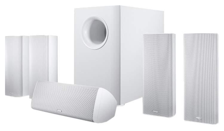 Комплект акустической системы Canton Movie 365 White Matt